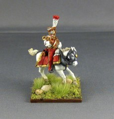 Napoleonic French Dutch Lancer Trumpeter