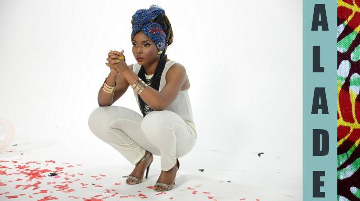 KISSING Yemi ALade Nigeria King Of Queens Djolo