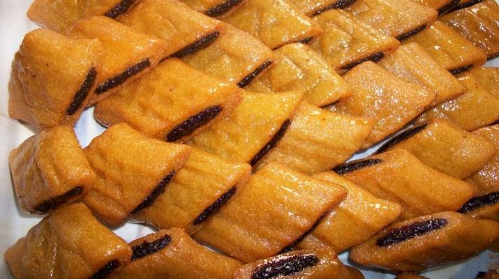 Makroud aux dattes djolo patisserie maghreb maroc tunisie libye algérie