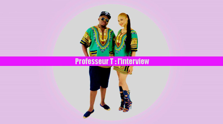 Professeur T interview maliya my name gabon djolo