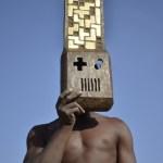 Alexandre Eudier Masque Tetris