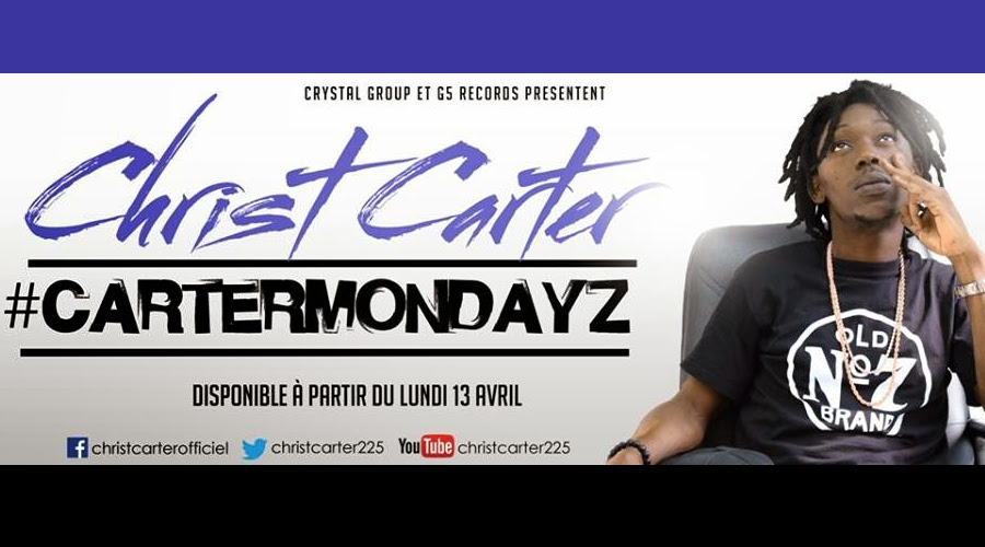 #CarterMondayz Christ Carter rap cote d'ivoire Et p8 koi Djolo