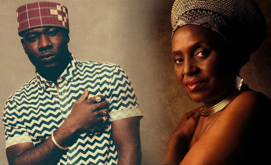 Talking and Dialoging Miriam Makeba Blitz the Ambassador Djolo Cover