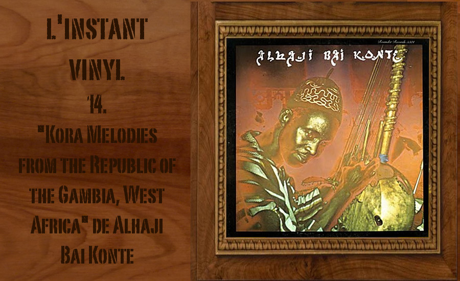 Kora Melodies From The Republic Of The Gambia, West Africa Alhaji Bai Konte Djolo Gambie
