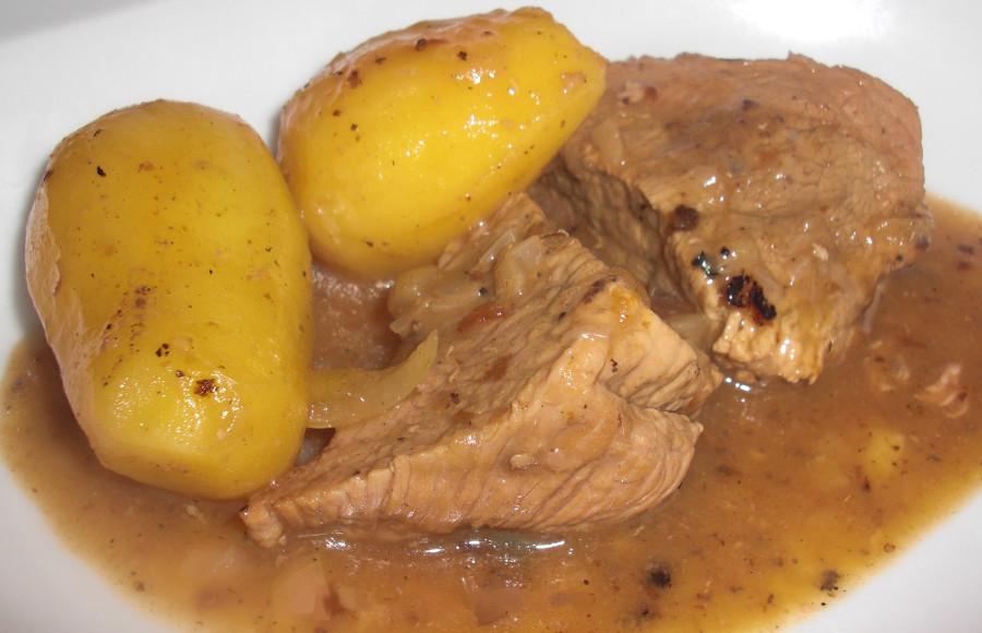 Le Touffé, un ragout de veau sénégalais