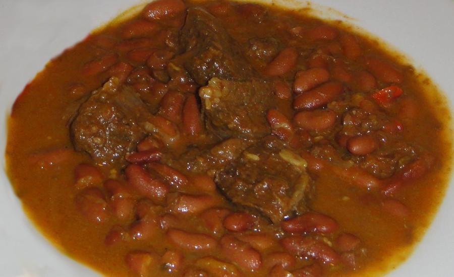 Soupe de Boeuf aux haricots rouges et coco Djolo Cuisine Madagascar