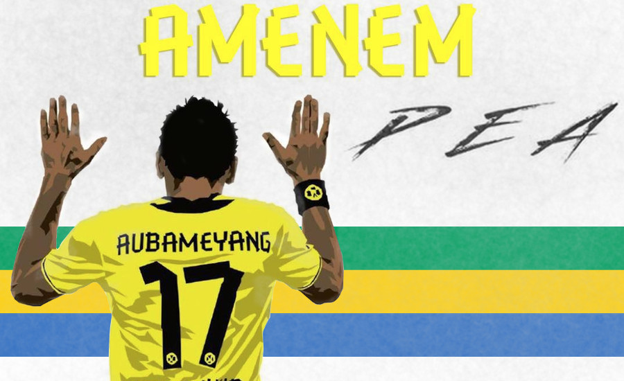 Amenem PEA Ballon d'or Djolo Gabon
