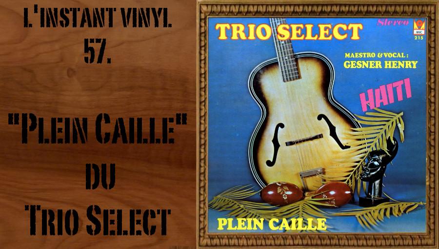 L'instant Vinyle Trio Select Plein Caille Djolo Haiti