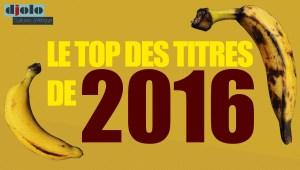 Le Top des Titres de 2016