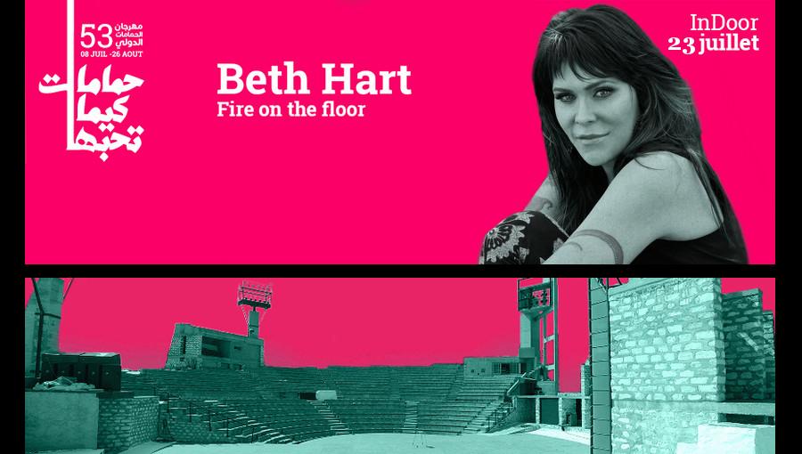 Beth Hart Festival de hammamet