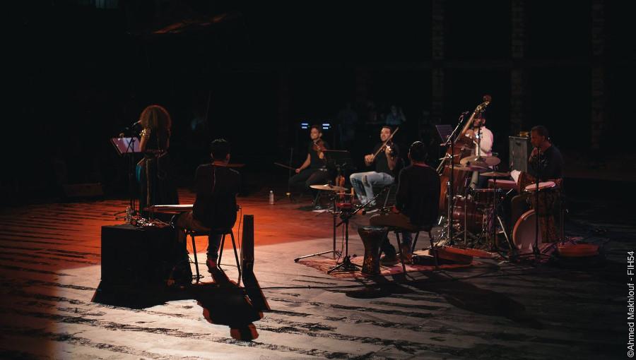 Ghalia Benali, chanteuse tunisienne, tarab, FIH54, Festival de Hammamet, CCIH, Centre Culturel de Hammamet