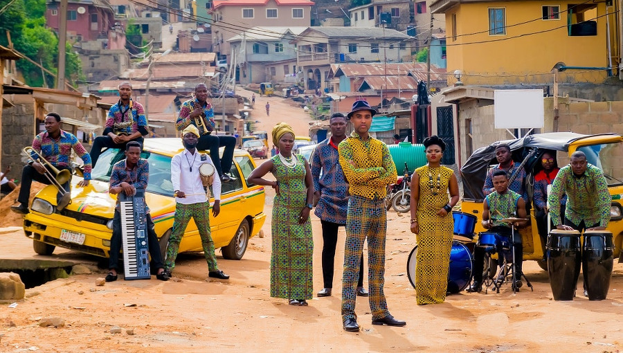 BANTU, Bantu crew, big band, Lagos, highlife, afrobeat, Agberos International, nouveau clip, Ká Máa Dúpẹ́