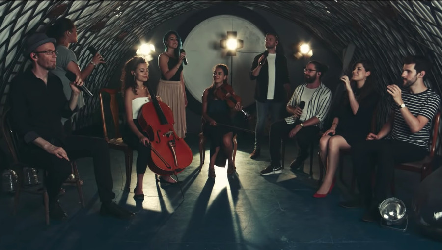 Ayoub Sisters, The Swingles, Omar Khairat, Fatma, musique égyptienne, cover a cappella, cover, reprise, chaabi