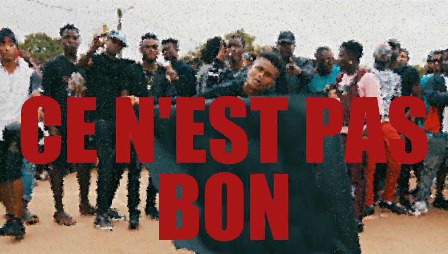 Kiff No Beat, Ce n'est pas bon, rap ivoirien, rap nouchi, rap africain, hip-hop, abidjan, nouveau clip