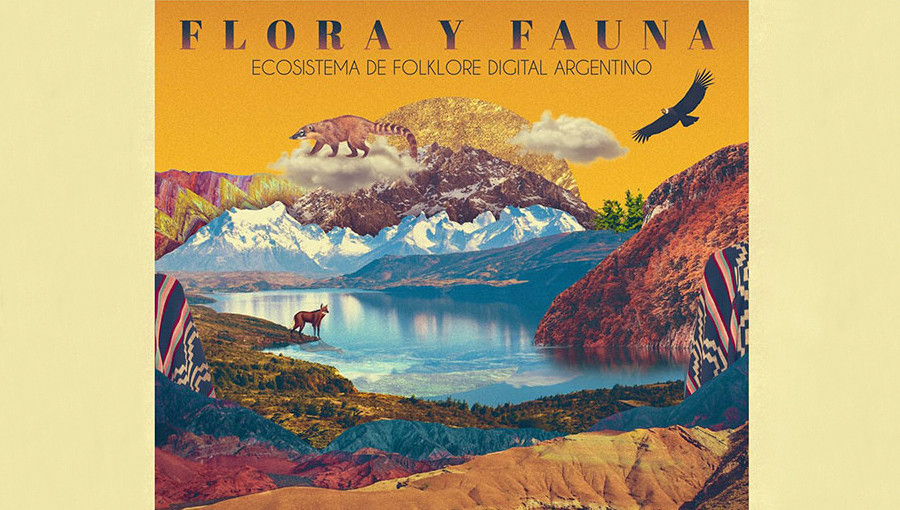 Flora Y Fauna, Flora y Fauna : Ecosistema de Folklore digital argentino, musique electronique, compilation, Discos Crack