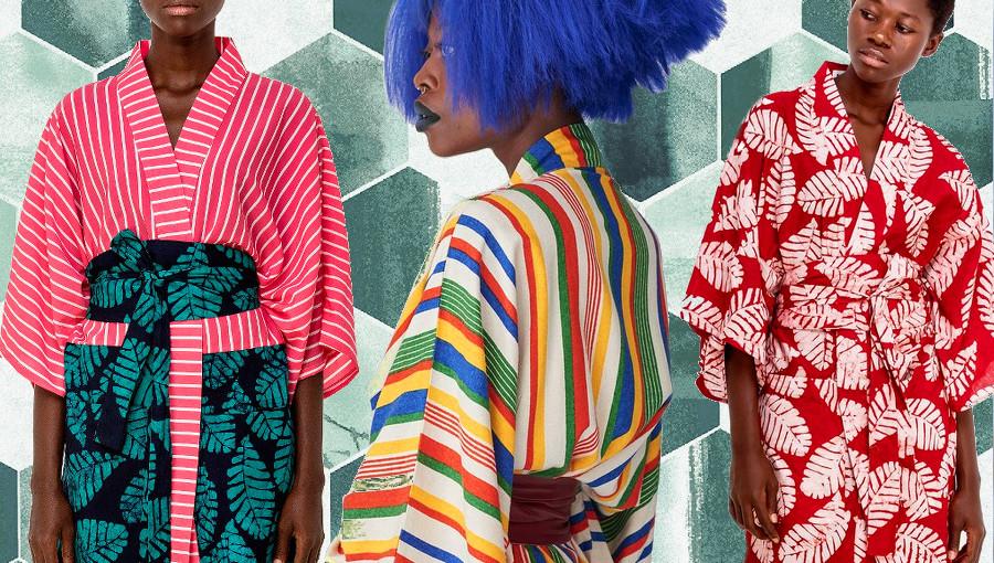 Kimono, Studio 189, ghana, mode ghanéenne, Jojo Abot, création, luxe, mode africaine, eco responsable, Ethic, Fashion