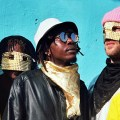 KOKOKO!, groupe congolais, Debruit, interview Sophie Bourlet, Kinshasa, instrument fabriqué, DIY, Fongola, Boiler room, Makara Bianco, Dido Oweke, Boms Bomolo, Bovic