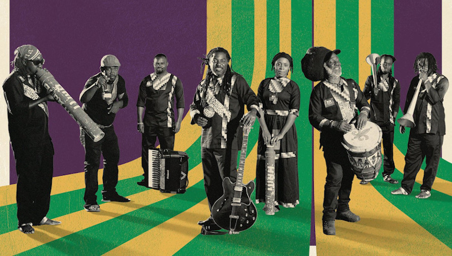 Lakou Music, Iko Kreyol, HaitiaNola, Nola, musique creole, musique haitienne, nouvel Album, leyla McCalla, Arcade Fire
