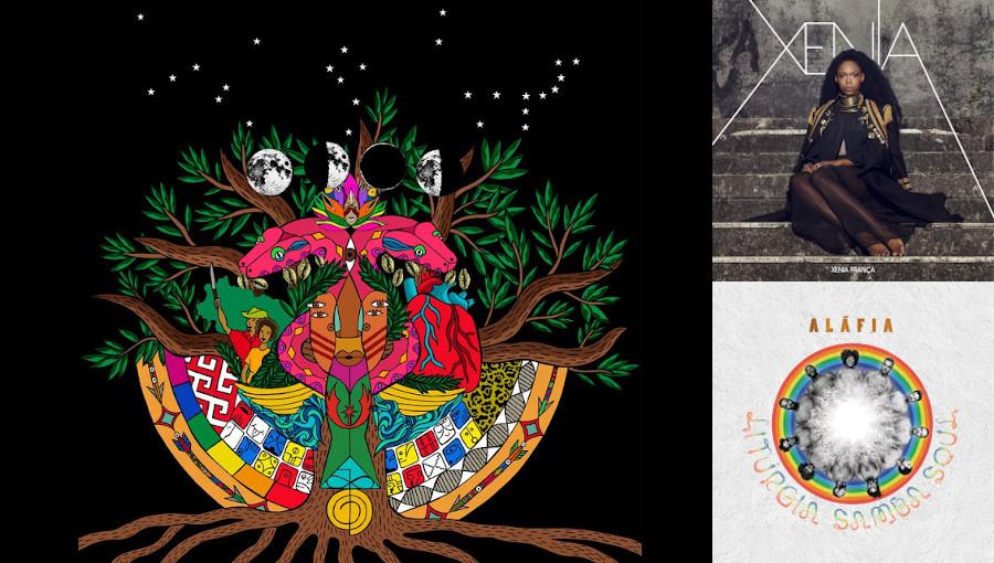 Lucas Santtana, Xenia Franca, Liturgia Samba Soul, O céu é velho há muito tempo, Alafia, Xenia, afrosoul, afrobrésilien, musique brésilienne, neo samba, disque