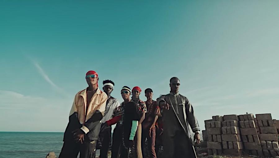 Darkovibes, La Meme Gang, rap ghanéen, Runtown, hip-hop, Mike Tyson, featuring, nouveau clip, fusion, artiste ghanéen