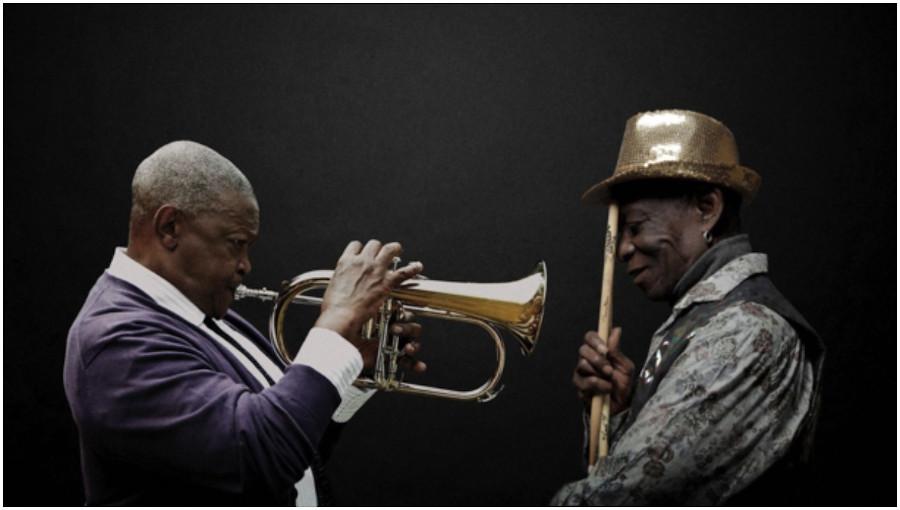 Rejoice, We ve landed, jazz, jazz sud africain, world circuit records, Nick Gold, Hugh Masekela, Tony Allen, afrobeat, batteur de fela, nouvel album, posthume, legende