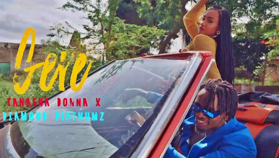 Tanasha, Tanasha Donna, Diamond Platnumz, Gere, nouveau clip, couple, femme de Diamond, bongo flava, Wasafi