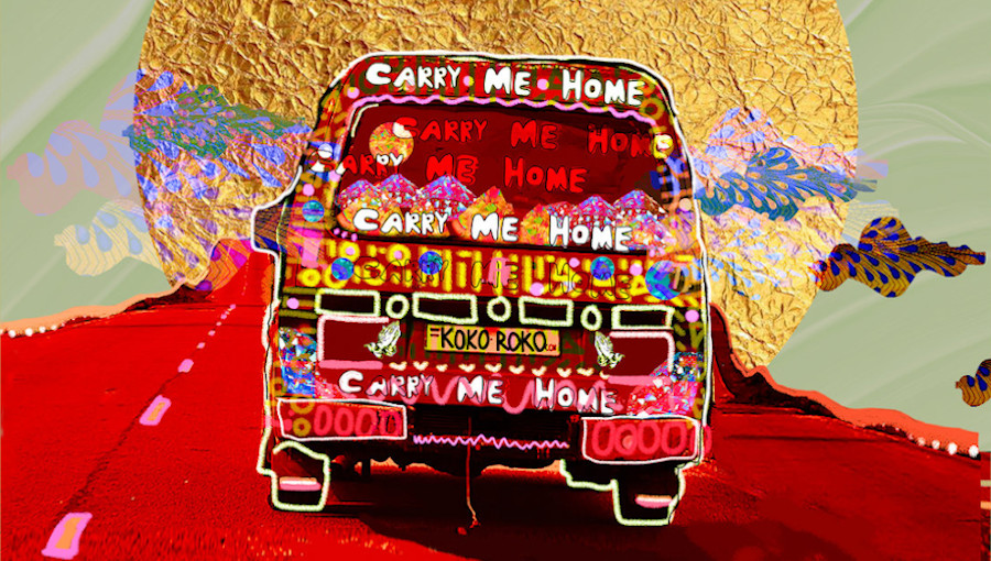 Carry me Home, Sheila Maurice-Grey, Kokoroko, Dele Sosimi, afrobeat, afrobeat londonien, lagos, fille, nouveau titre, Cassie Kinoshi, Oscar Jerome