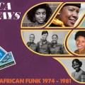 Africa Airways Six (Mile High Funk 1974 - 1981), Africa Airways, funk, compilation, disco, afrofunk, funk africain, Africa Seven, Vicky Edimo, Tim & Foty, Jude Bongeze, JK Madengue
