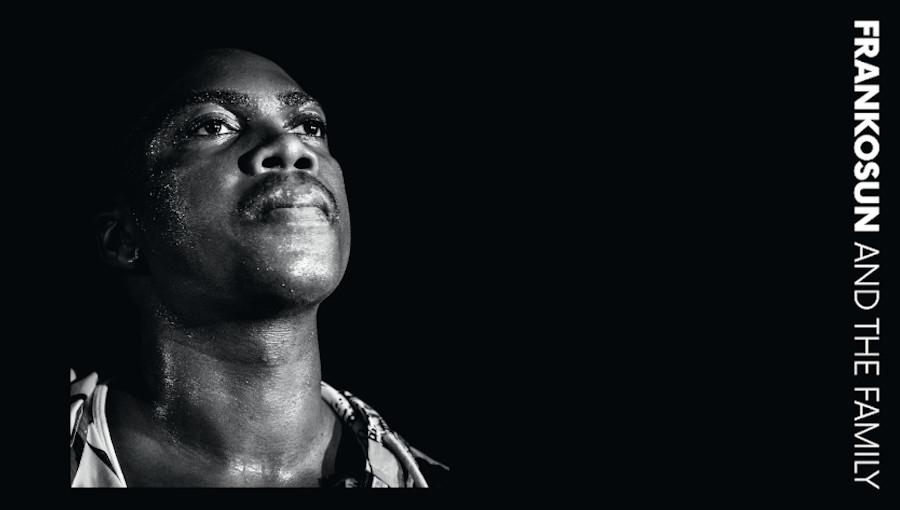 Frankosun and the family, Frankosun, Oladele Franck Komolou, Elossa Records, afrobeat, afrofunk béninois, Nago, Yoruba, Guedele, Helsinki, premier album