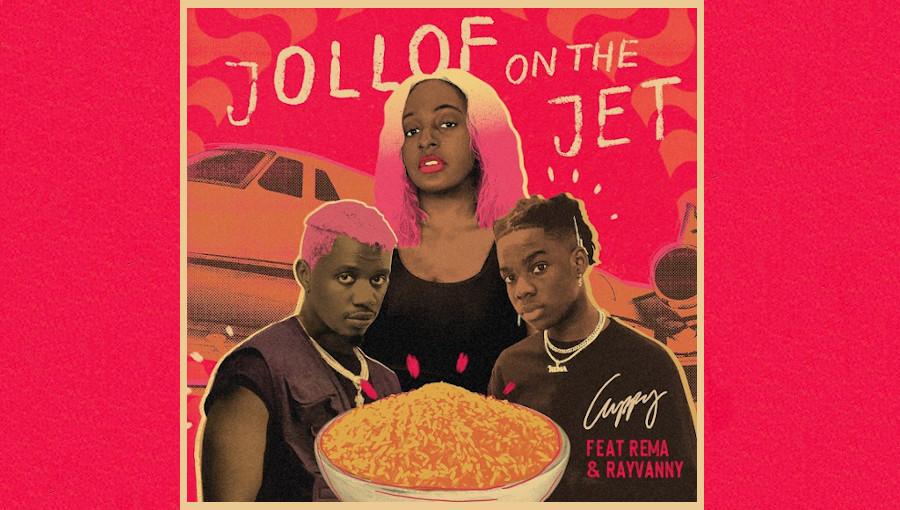 Jollof on the Jet, Rema, Cuppy, Rayvanny, afropop, bongo flava, single, the original copy, album, chanteur nigerian, chanteur tanzanien, featuring, DJ Cuppy