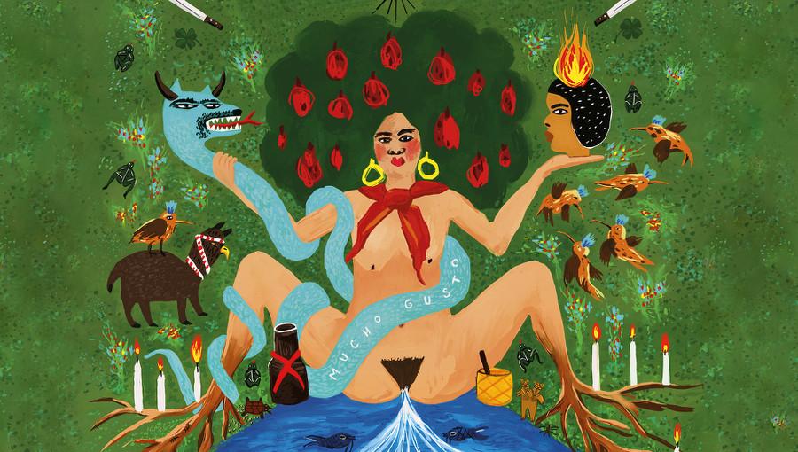 Mucho Gusto, Acid Coco, duo colombien, musique colombienne, nouvel ep, cumbia, reggaeton, champeta, psychedelique, punk, musique electronique, el palmas Music
