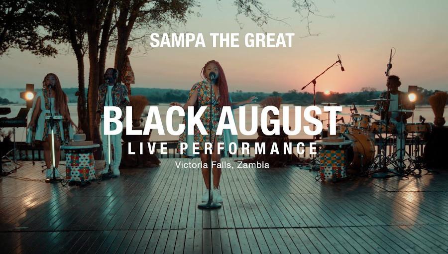 Sampa the Great,Black August, Live, Live performance, avant première, mag 44, concert, chutes Victoria, Zambie, chanteuse zambienne, OMG, Final Form