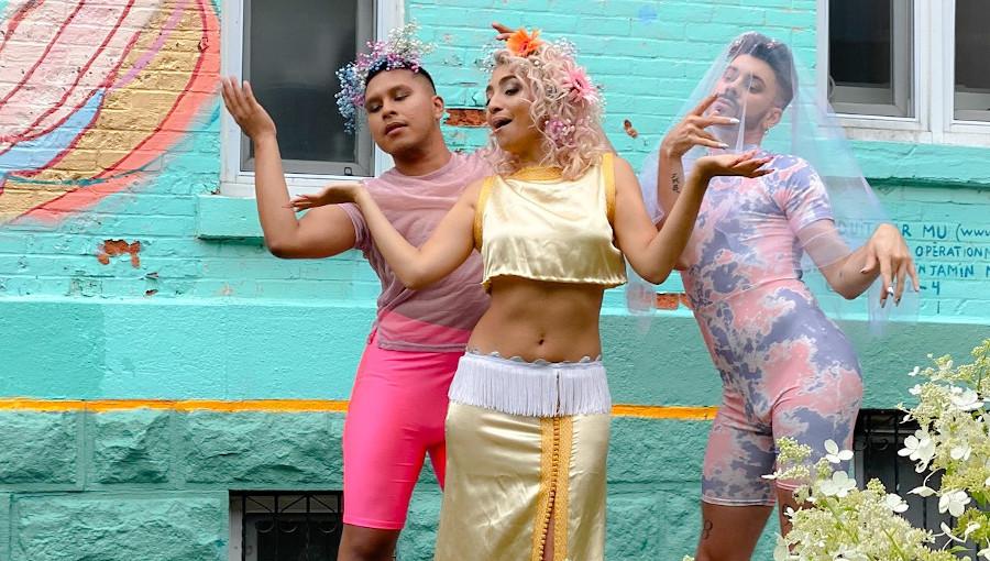 La Cover, Batwanes Beek, Warda, reprise, Rime Salmi, LGBT, gay, transgenre, chanson arabe, lgbt monde arabe, chanteuse marocaine, classique, nouveau clip