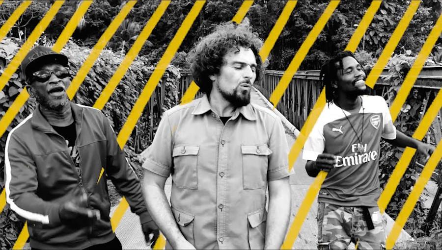David Cairol, Brinsley Forde, Var, Vers(e), Building Bridges, Anchor Studio, Kingston, reggae, reggae français, roots, nouveau clip, nouvel album, jamaïque