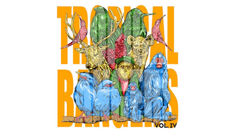Tropical bangers Vol IV, ohxala records, Mèraque, Hûli, papou, papouasie nouvelle guinée, Aroma, Inde, producteur indien, house, house organique, ethnic, tribal, remix, oud