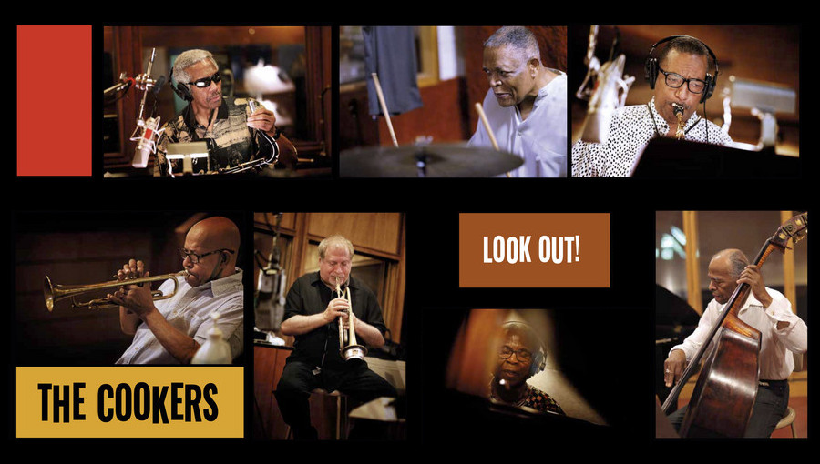 Look Out, The Cookers, Somalia, post bop, be bop, jazz, nouvel album, veteran, Gearbox Records, Eddie Henderson, David Weiss, Georges Cables, Cecil McBee, Billy Hart, Billy Harper, Donald Harrison