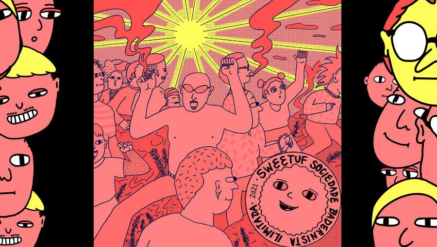 Sweetuf Records, anniversaire, Sweetuf Sociedade Badernista Ilimitada V.A, tech, techno, ghettotech, techno bresilienne, electro, curitiba, micro house, minimal