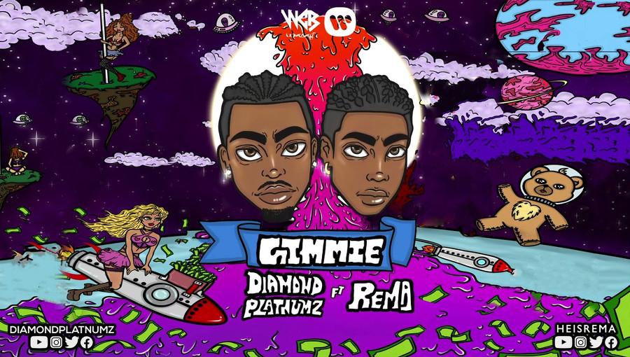 Gimmie, Diamond Platnumz, Rema, Wasafi Records, Mavin Records, bongo flava, feat, afropop, fuji, nouveau titre, tanzanie, nigeria