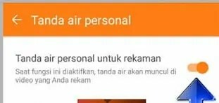 cara menghilangkan watermark Du Screen Recorder