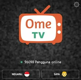 cara main ome tv di android
