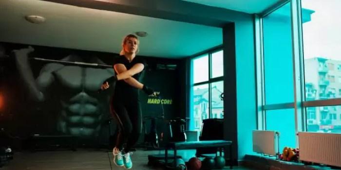 olahraga kardio cardio lompat tali