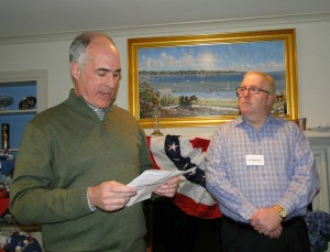 Senator Casey reads letter from distraught mother