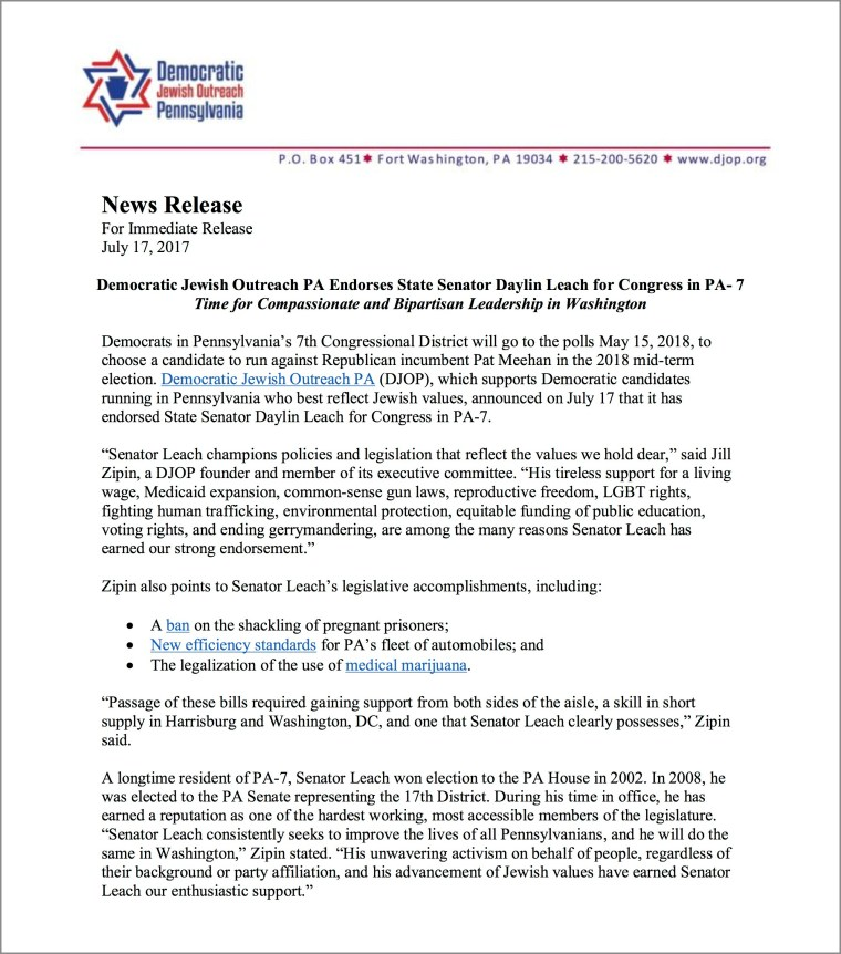 DJOP Press Release for Leach Endorsement_Website_Frame