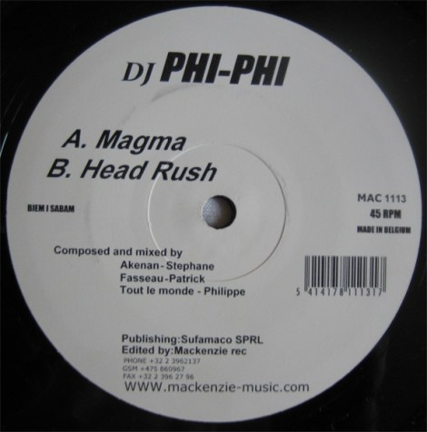 "phi phi ""Magma + head rush"" on Mackenzie"