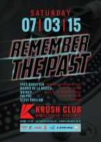 remember the past @ krush club