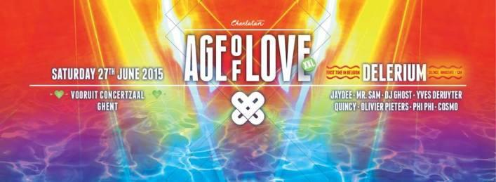 Age of love XXL @ Vooruit