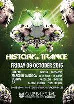 flyer history of trance