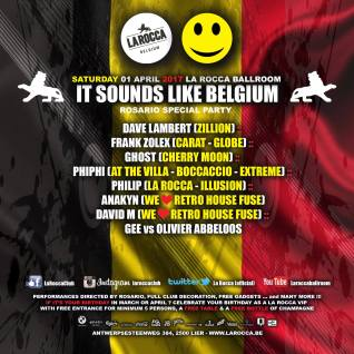 It Sounds Like Belgium @ La Rocca