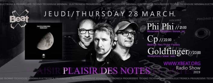Plaisir des notes radio show on X nbeat