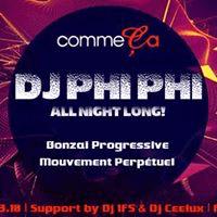 DJ Phi Phi @ Comme ça 2018